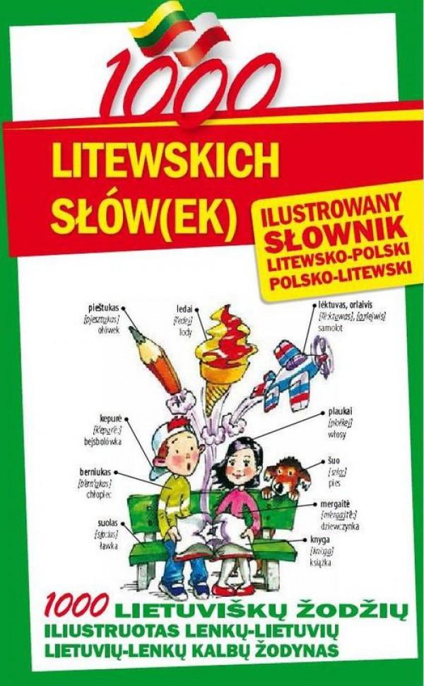 słownik polsko litewski ilustrowany