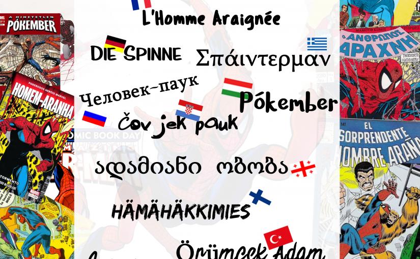 Spider-Man w innych językach i co mają komiksy do nauki