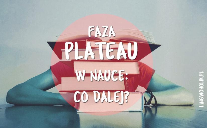 Plateau w nauce języka: jak ruszyć dalej?